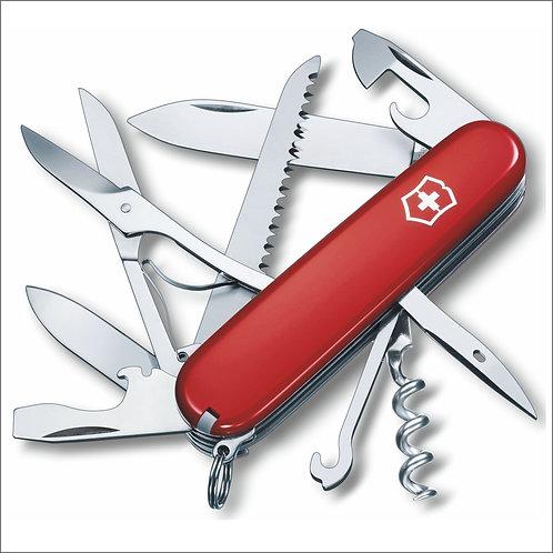Victorinox Huntsman Swiss Army Knife - Red