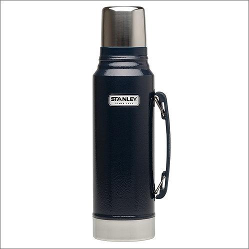 Stanley Classic Vacuum Bottle - 1 Litre - Hammertone Navy