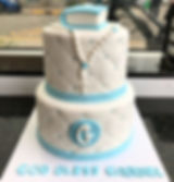 #communion#confirmation#cakes#blue#montr