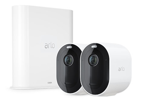 Arlo Pro 3 Wire-Free Security Camera System – 2 Camera