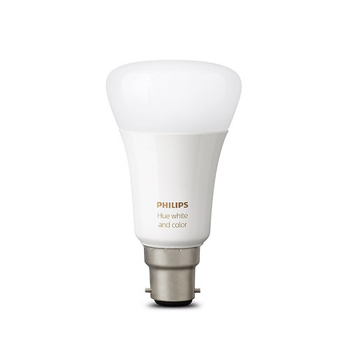 Philips Hue White and Colour Ambience B22 Bulb