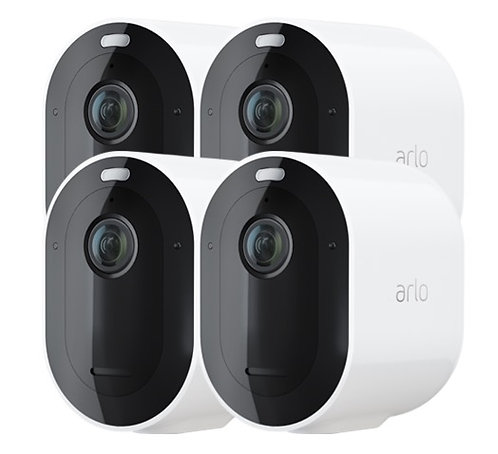 Arlo Pro 3 Wire-Free Security Camera System 4 Camera
