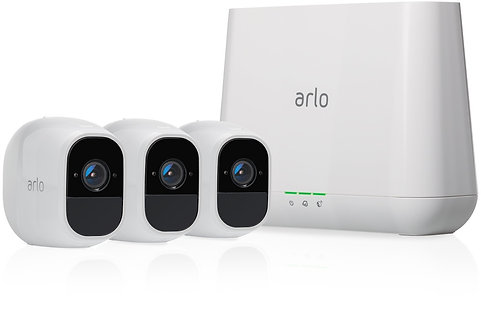 Arlo Pro 2 Smart Security System with 3 Cameras