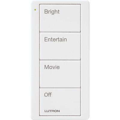 Lutron RA2 Select Pico Wireless Controller Scene with 4 Button Custom Engraving