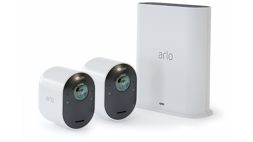 Arlo Ultra 4K Wire-Free Security Camera System – 2 Cameras