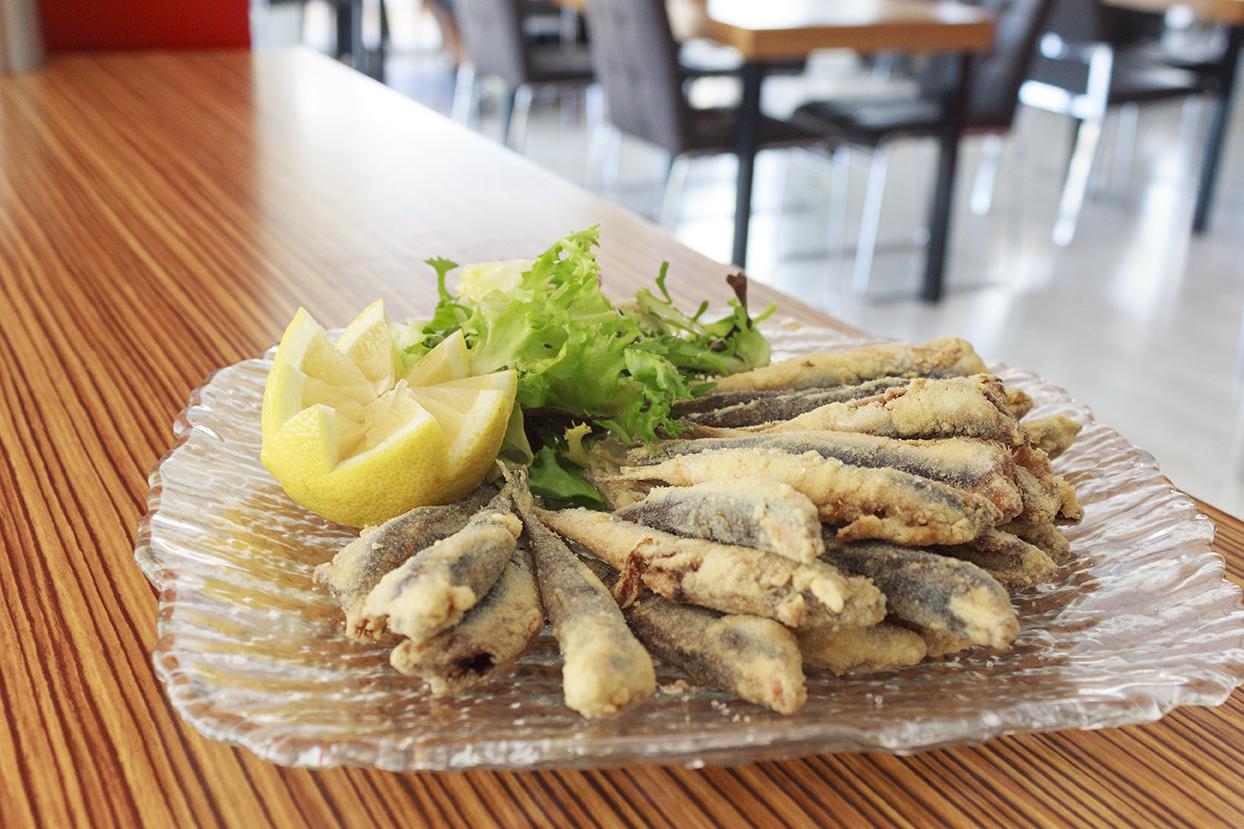 Vinaterias La Cava - Boquerones fritos s