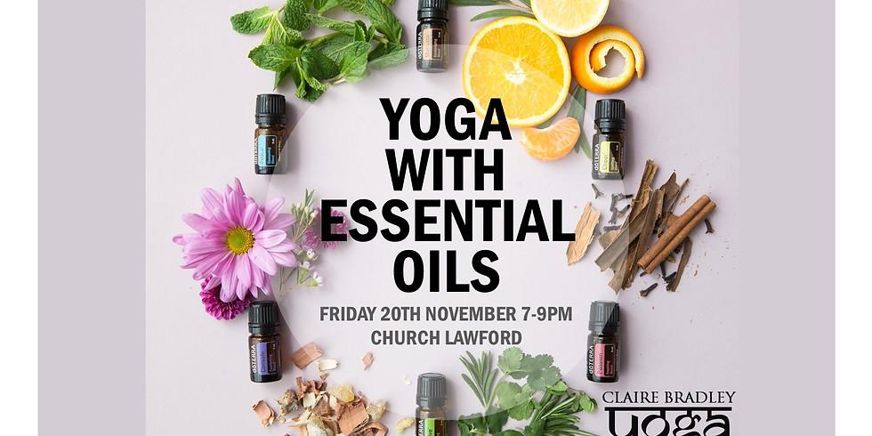 Yoga and Essential Oils workshop