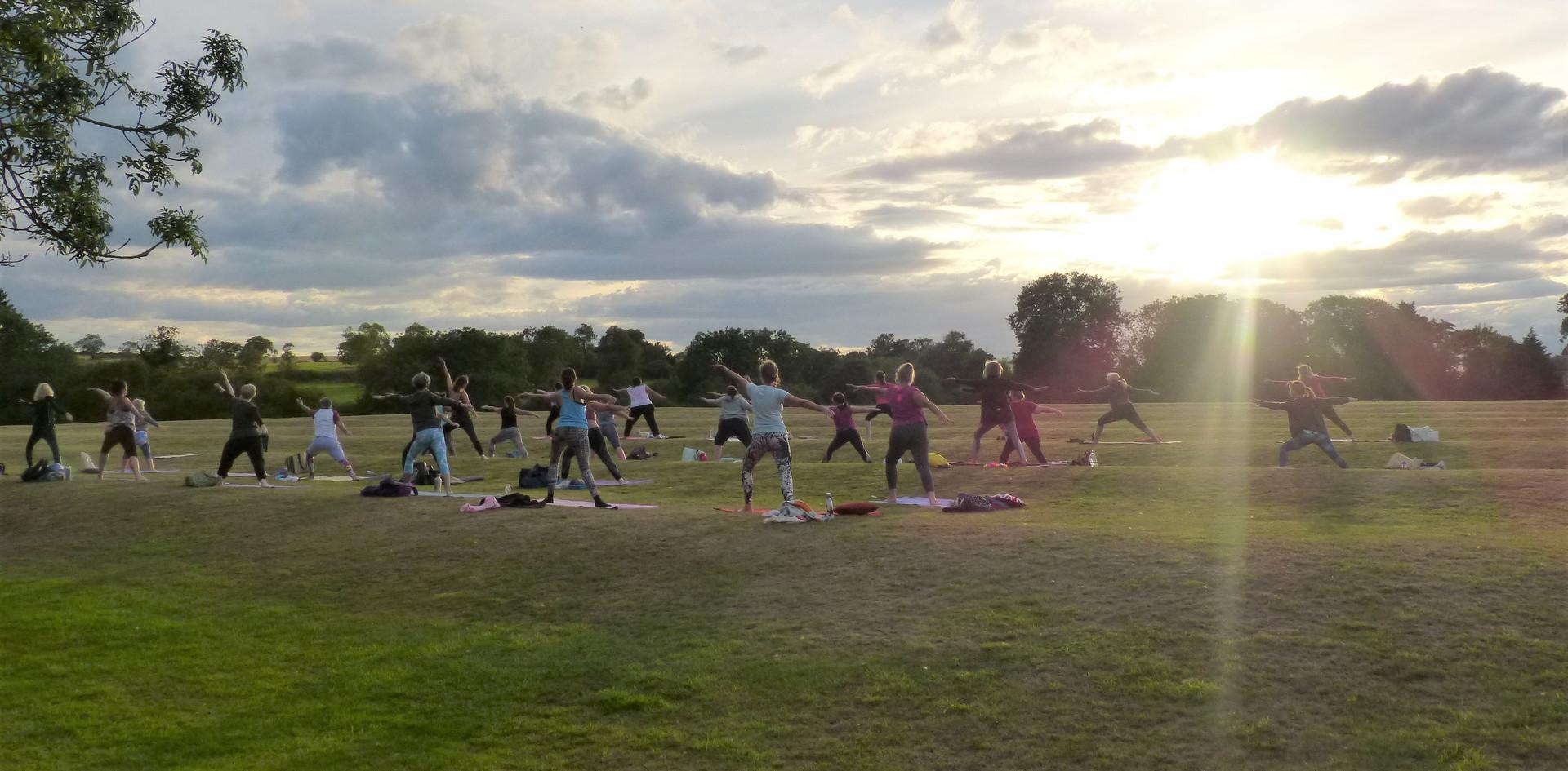 Sunset Yoga Winwick 2020