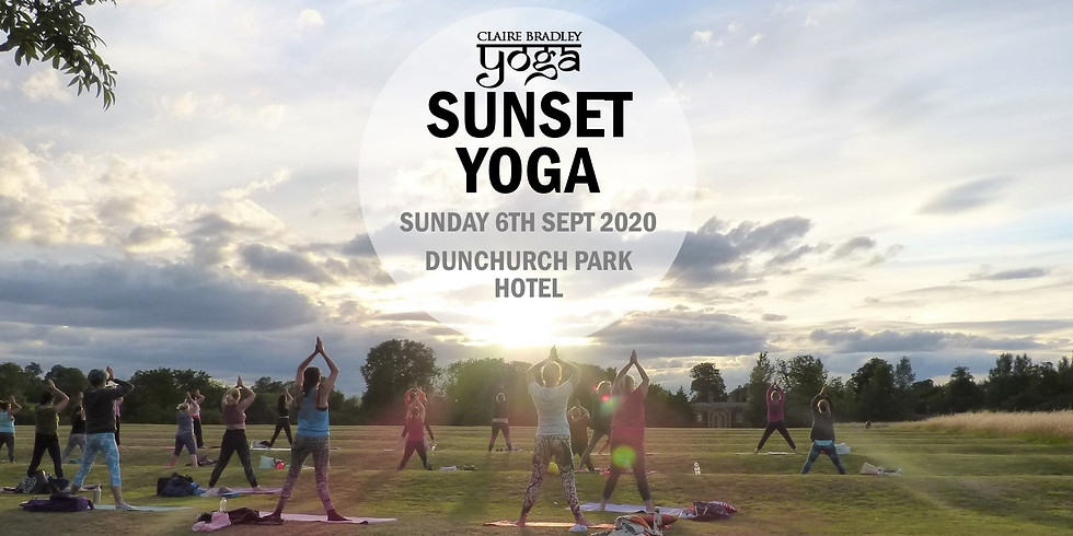 Outdoor Sunset Yoga at Dunchurch Park Hotel, Rugby