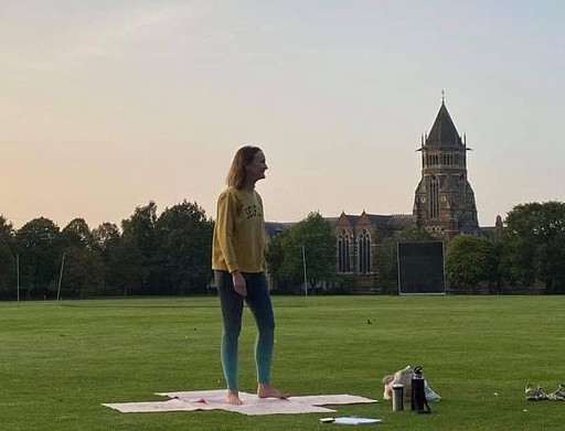Sunset Yoga at Rugby School 2020