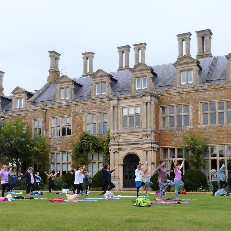 FULLY BOOKED - Sunset Yoga at Holdenby House