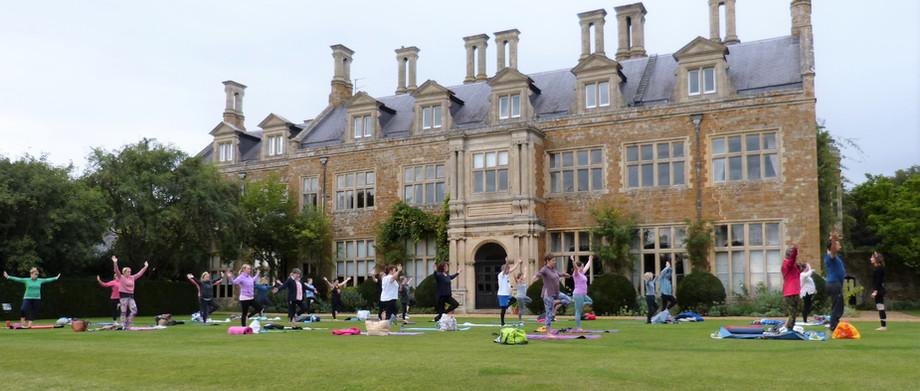 Sunset Yoga Holdenby House 2020
