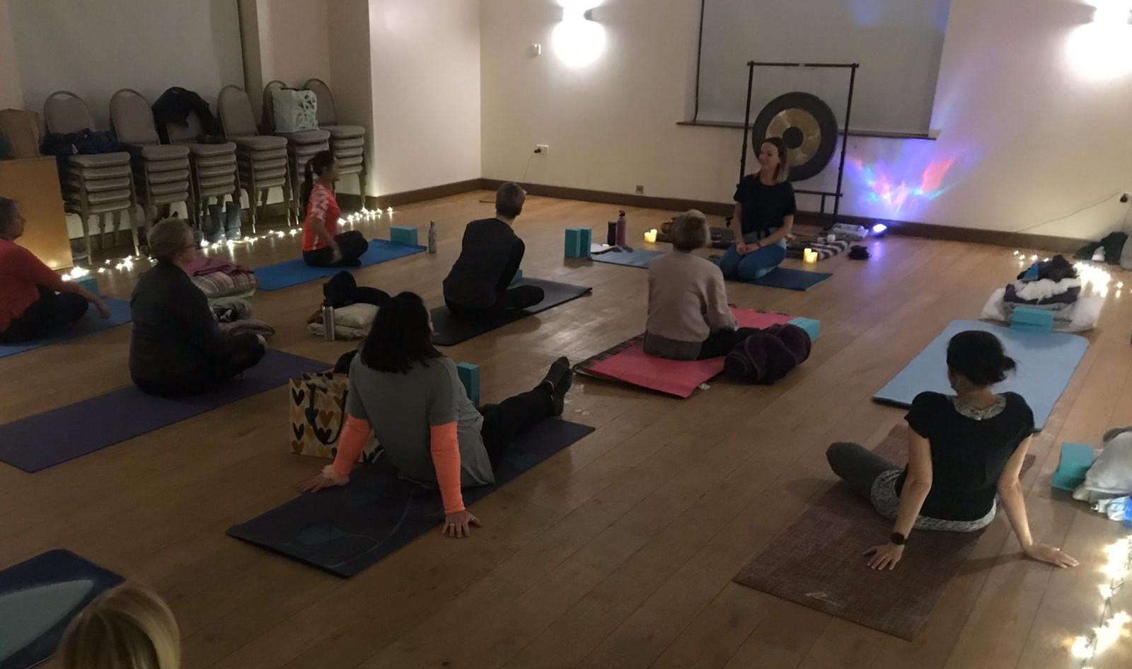 Yoga & Gong Bath Evening