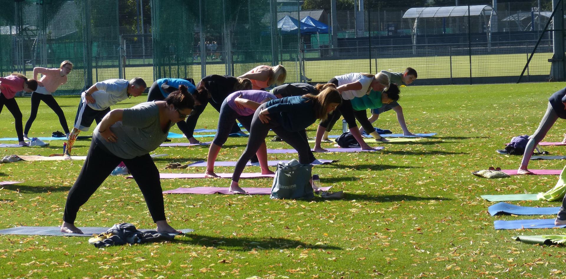 Yoga for Myton Hospice 2019