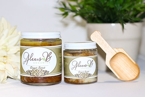 Ginger and Brown Sugar Infused with Babassu Oil Scrub