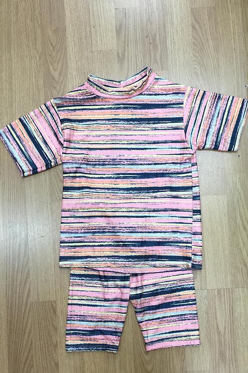 Girls pink cycling shorts sets 4-14 Years