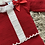 Thumbnail: Spanish red knitted lace and bow two piece 0-12 Months