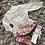 Thumbnail: Wee Me cream/pink jam pants set 3-36 Months