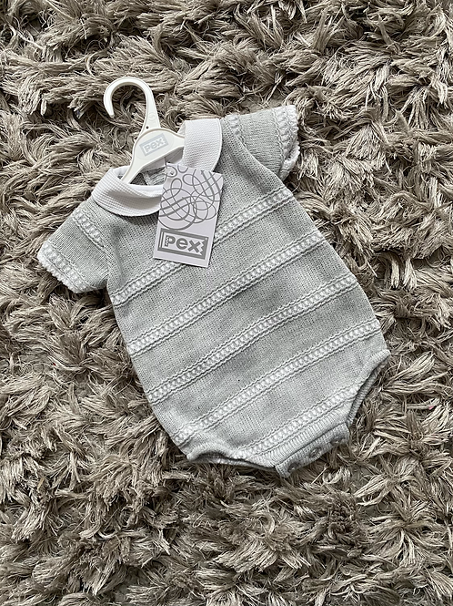 Pex Striped rompers NB-9 Months