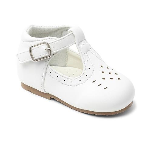 Sevva Aaron white Matt shoe size 3-8