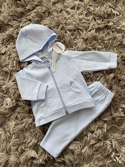 Babidu baby blue tracksuits 0-5 Yrs