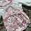 Thumbnail: Wee Me pink floral big bow romper 0-3 Yrs