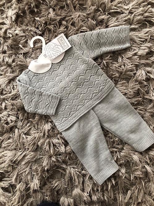 Pex Sawyer suit grey 3-18 Months