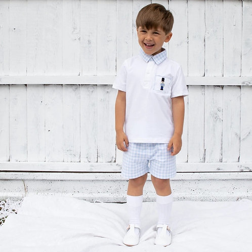 Caramelo boys soldier shorts set 1-4 Years