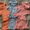 Thumbnail: Girls hooded ruffle shorts sets 4-14 Years