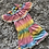 Thumbnail: Girls all in one Tie Dye play suit ages 2-5 Years