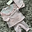 Thumbnail: Mintini Heart 3 piece leggings set 3M-5Y