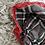 Thumbnail: Spanish grey/red pinafore dress 3-24 Months
