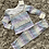 Thumbnail: Aztec rainbow frill collar lounge set age 2-12 Years