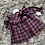 Thumbnail: Laivicar red/navy dress 0-24 Months