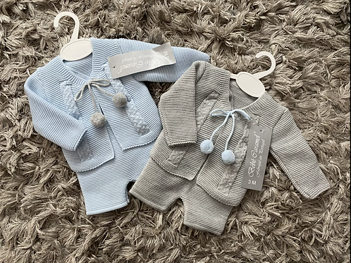 Blue / grey laderhosen sets 0-24 Months