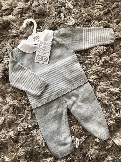 Pex Rory suit grey 6-24 Months