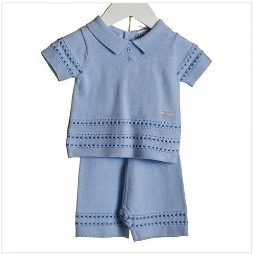 Blues baby blue two tone suit 9-24 M