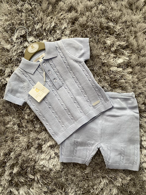 Mintini Baby cable knit two piece 0-24 Months
