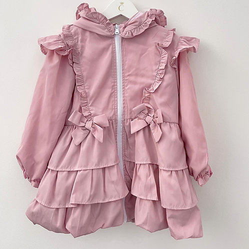 Caramelo pink bow summer jacket 2-8 Years