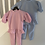 Thumbnail: Girls puff shoulder lounge sets ages 4-14 Years