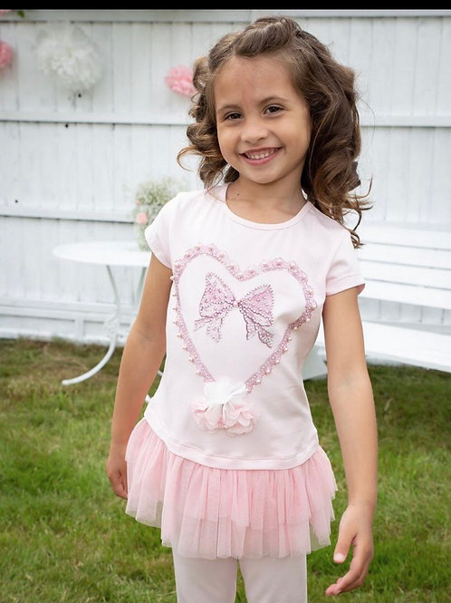 Caramelo bow leggings set 1-5 Years