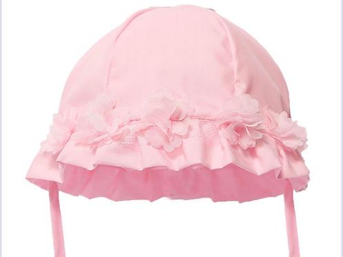 3D flower summer hat 0-24 M