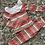Thumbnail: Orange Aztec frill collar lounge set Age 2-12 yes