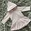 Thumbnail: Babidu pink hooded dress 12M-6Y