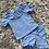 Thumbnail: Girls Spanish style towelling shorts sets