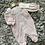 Thumbnail: Mintini hole trim/collar sleep suit NB-6 Months