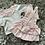 Thumbnail: Swan frilled romper NB-6 Months