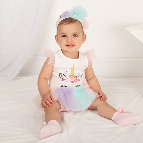 Caramelo unicorn set 3-24 Months
