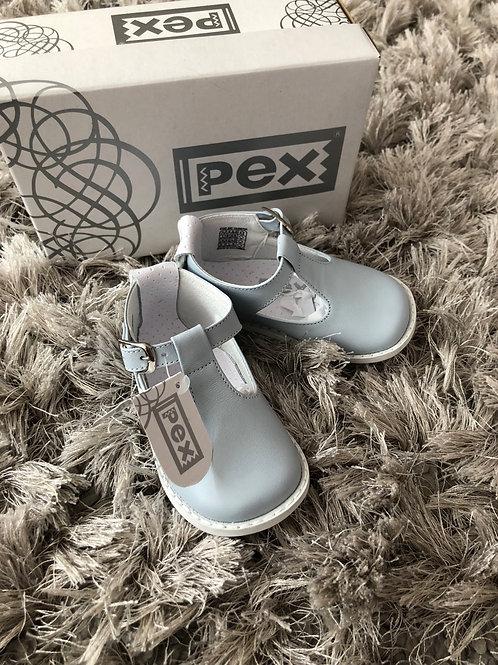 Pex T Bar blue shoes