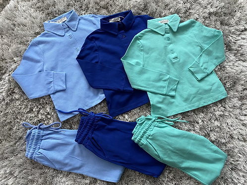 Boys collared jogging sets age 2-10 Years